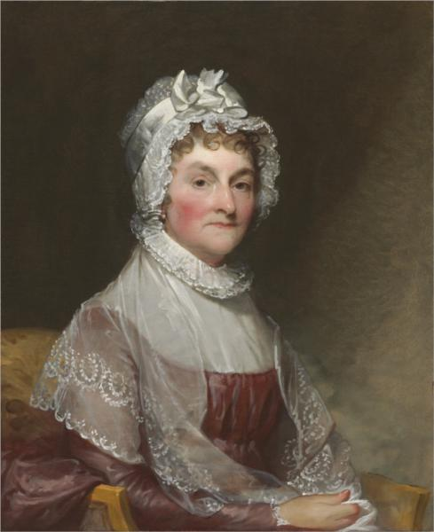 Abigail Adams, 1815 - Gilbert Stuart