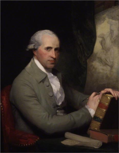 Benjamin West, 1785 - Gilbert Stuart