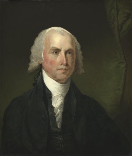 James Madison, 1821 - Gilbert Stuart