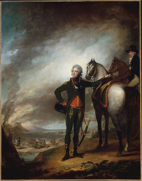 Louis-Marie, Vicomte de Noailles, 1798 - Gilbert Stuart