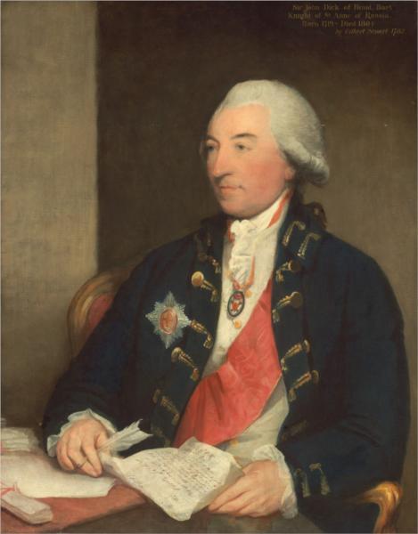 Sir John Dick, 1783 - Gilbert Stuart