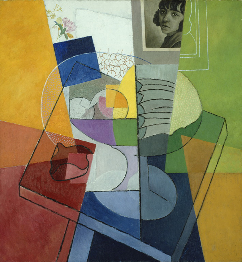 still life centrifugal expansion of colors 1916 gino