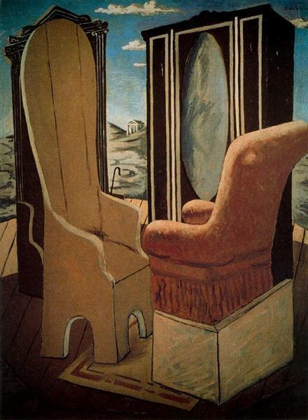 Furniture in the Valley, 1927 - Джорджо де Кіріко