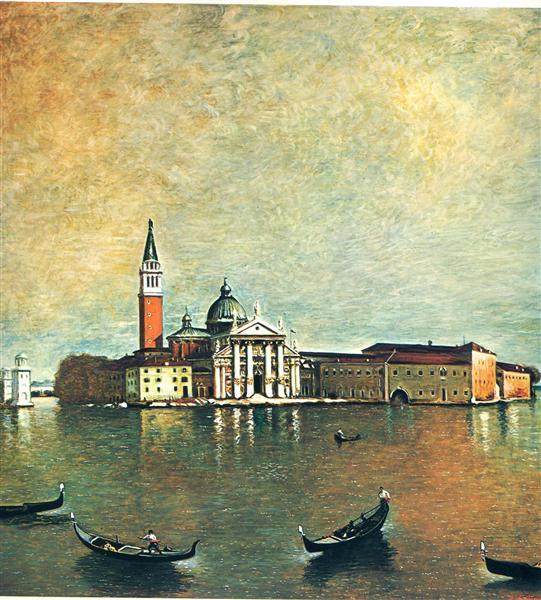 Island San Giorgio, 1967 - Giorgio de Chirico