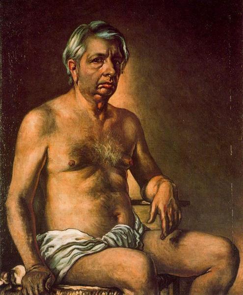 Self Portrait Nude, 1945 - Giorgio de Chirico
