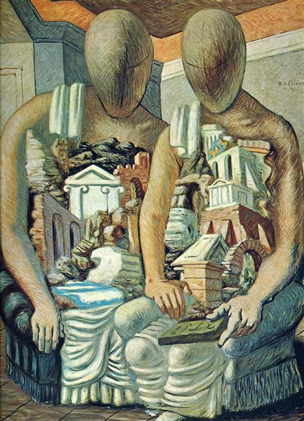 The Archaeologists, 1927 - Giorgio de Chirico