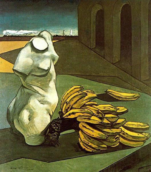 The Uncertainty of the Poet, 1913 - Giorgio de Chirico