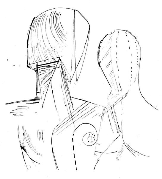 Two mannequins - Giorgio de Chirico