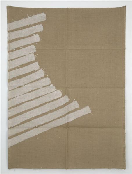 Quasi dipinto, 1968 - Giorgio Griffa