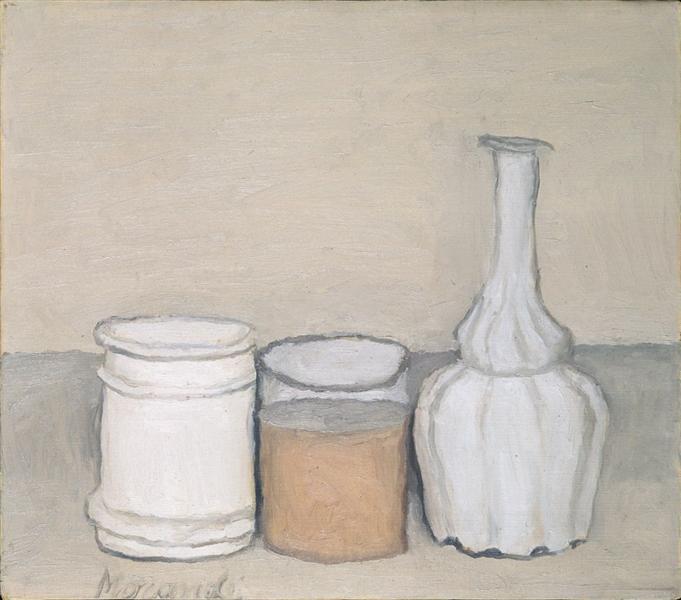 Still Life with Flask, 1953 - Giorgio Morandi