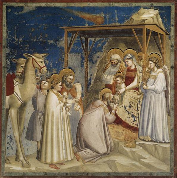 Adoration of the Magi, c.1304 - c.1306 - Giotto