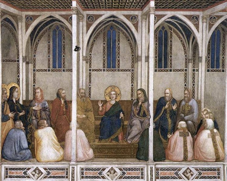 Christ Among the Doctors, c.1311 - c.1320 - Giotto