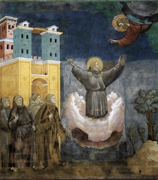 Ecstasy of St. Francis, 1297 - 1300 - Giotto