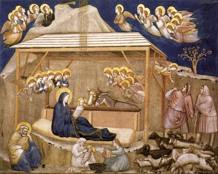 Nativity, 1311-1320 - Giotto