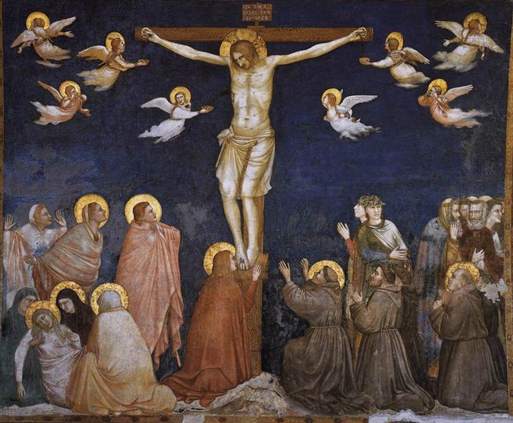 The Crucifixion, c.1311 - c.1320 - Giotto