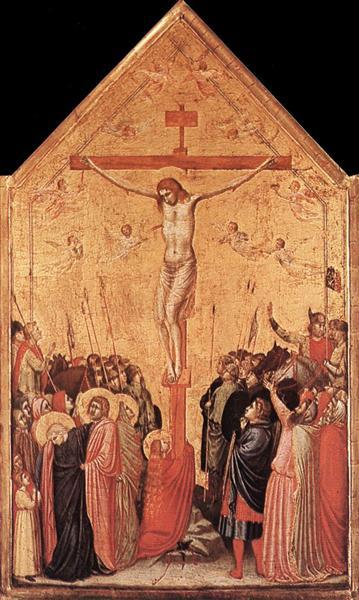 The Crucifixion, c.1335 - Giotto