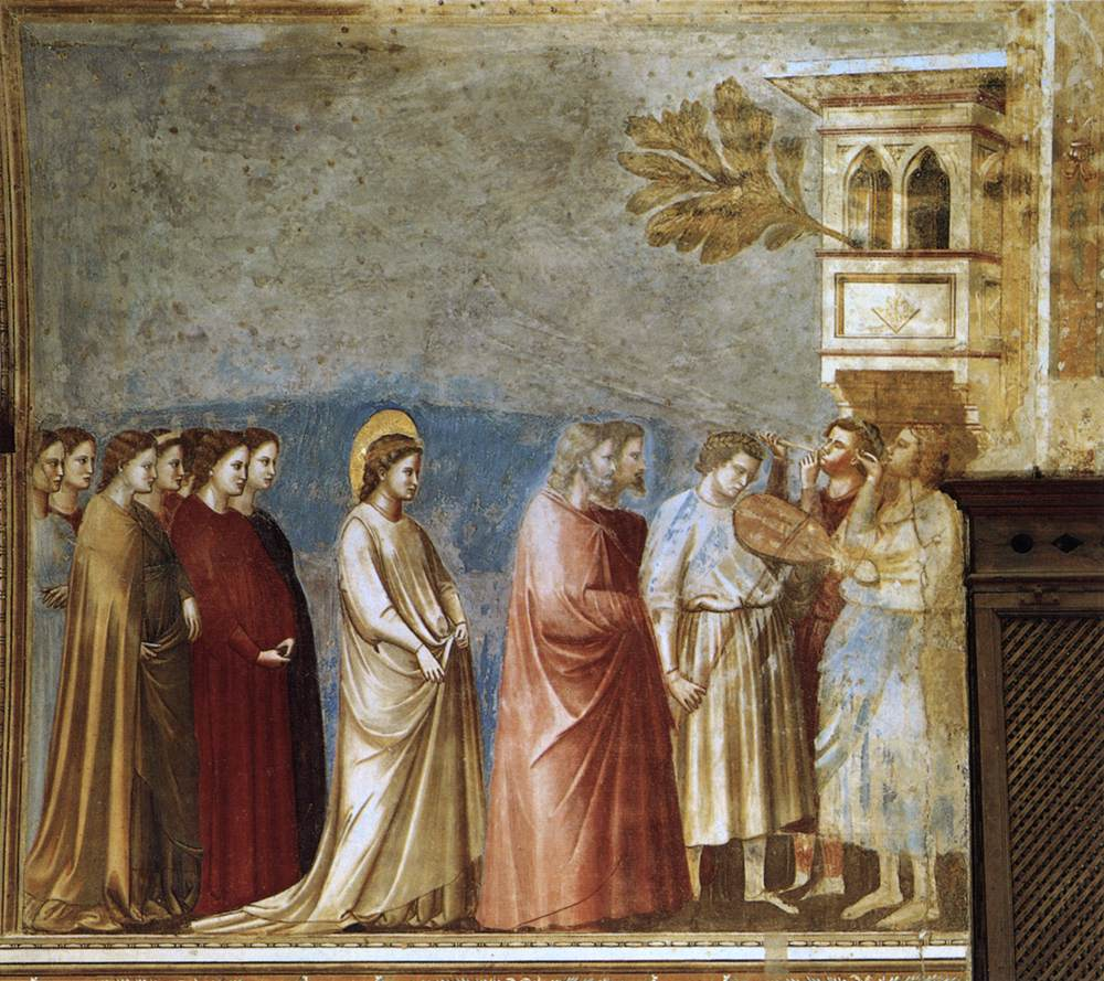 The virgins wedding procession 1305 giotto wikiart the virgins wedding procession 1305 giotto junglespirit Images