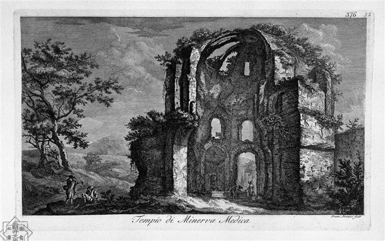 Arch of Trajan in Ancona - Giovanni Battista Piranesi