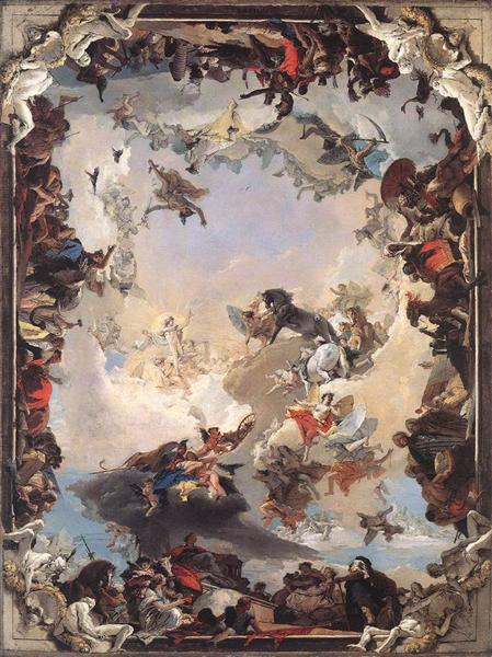 Allegory of the Planets and Continents, 1752 - Giovanni Battista Tiepolo