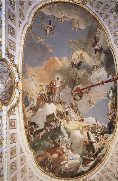The Apotheosis of the Spanish Monarchy, 1762 - 1766 - Giovanni Battista Tiepolo