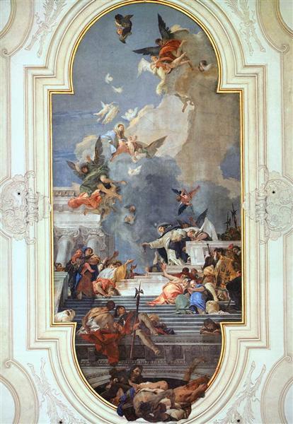 The Institution of the Rosary, 1737 - 1739 - Giovanni Battista Tiepolo