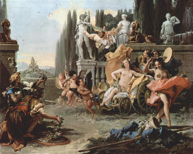 The Triumph of Flora, 1743 - 1744 - Giovanni Battista Tiepolo