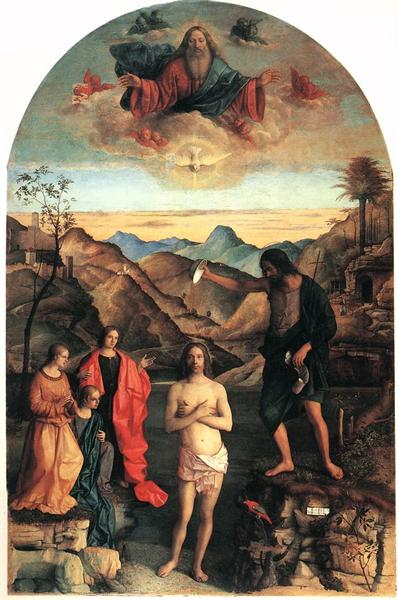 Baptism of Christ, St. John Altarpiece, 1500 - 1502 - Giovanni Bellini