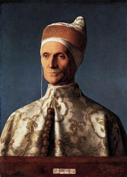Leonardo Loredan, 1501 - Giovanni Bellini