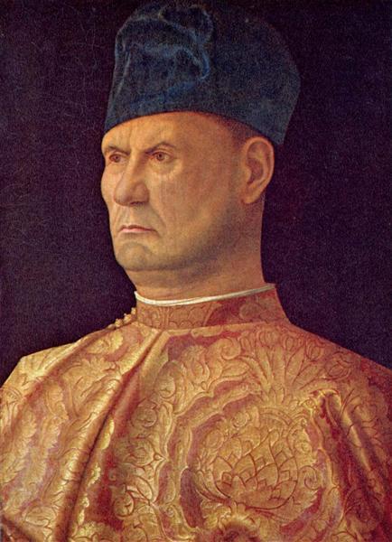 Portrait of a condottiere, c.1475 - c.1485 - Giovanni Bellini