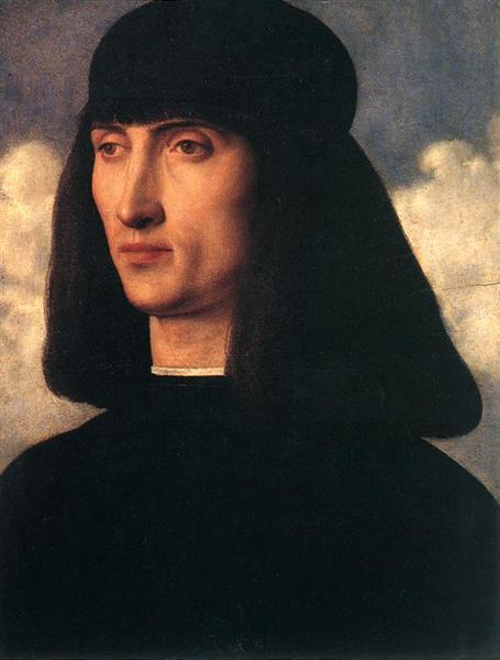 Portrait of a Young Man, c.1500 - Giovanni Bellini