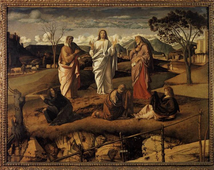 Transfiguration of Christ, c.1487 - Giovanni Bellini