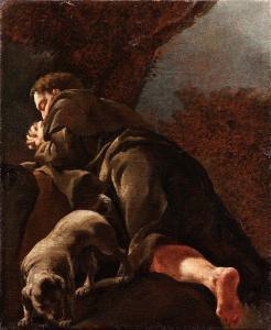 San Rocco In Preghiera - Giulia Lama