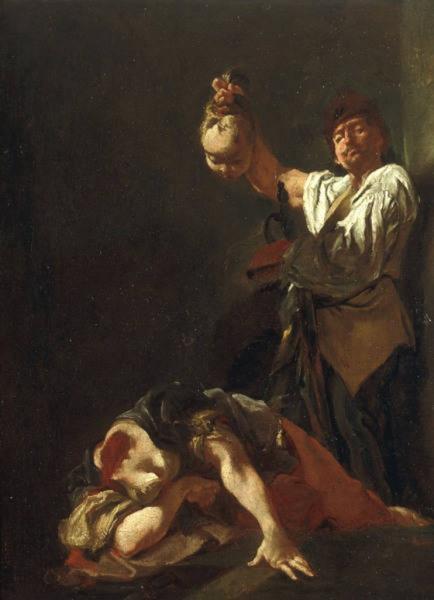 The Martyrdom of Saint Eurosia, 1728 - Giulia Lama