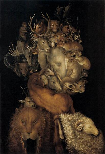 Earth, 1570 - Giuseppe Arcimboldo