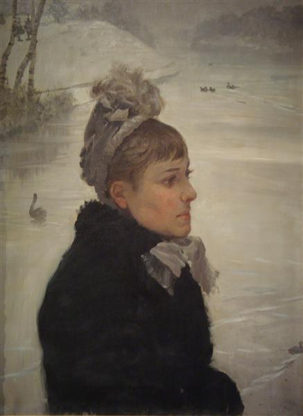 Presso al lago, 1879 - Giuseppe De Nittis