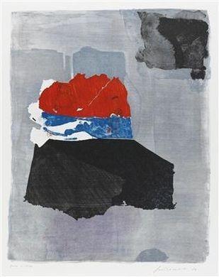 Il rosso sopravvive, 1987 - Giuseppe Santomaso