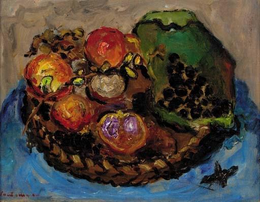 Natura morta alla frutta - Giuseppe Santomaso