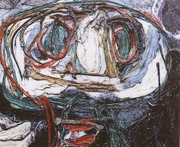 Mad Love, 1991 - Glenn Brown