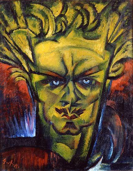 August Strindberg, 1915 - Gosta Adrian-Nilsson