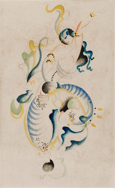 Orientalisk danserska - Gosta Adrian-Nilsson