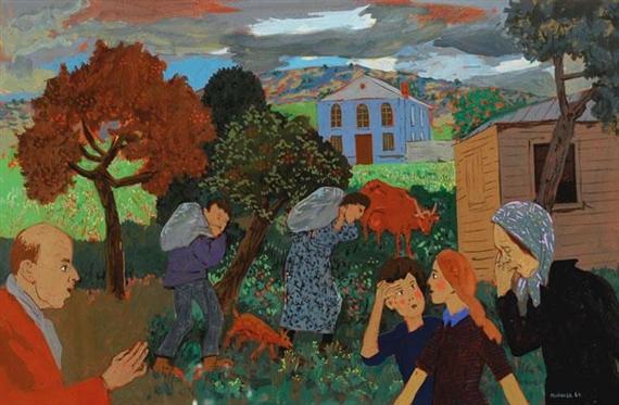 Figures in the Village - Grégoire Michonze