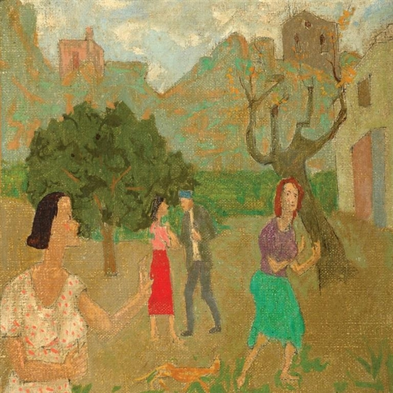 Figures in the Village - Grégoire Michonze