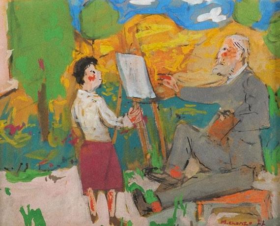 The Painter, 1977 - Grégoire Michonze