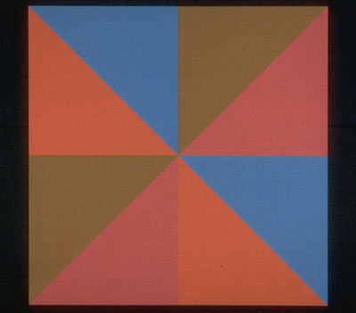 Opposition triangulaire, 1971 - Guido Molinari