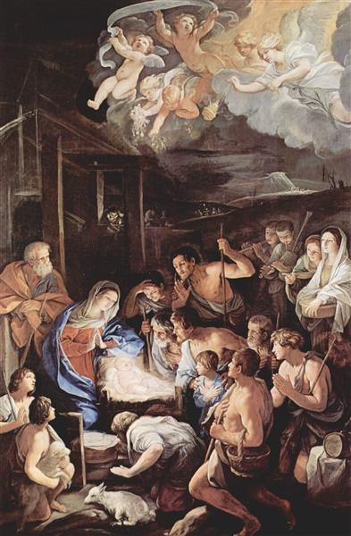 Adoración de los pastores - Reni Guido