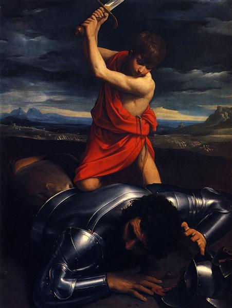 David and Goliath, 1610 - Guido Reni