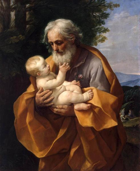 St Joseph with the Infant Jesus, c.1620 - Guido Reni
