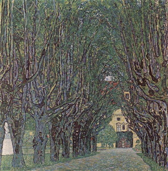 Avenue of Schloss Kammer Park, 1912 - Gustav Klimt