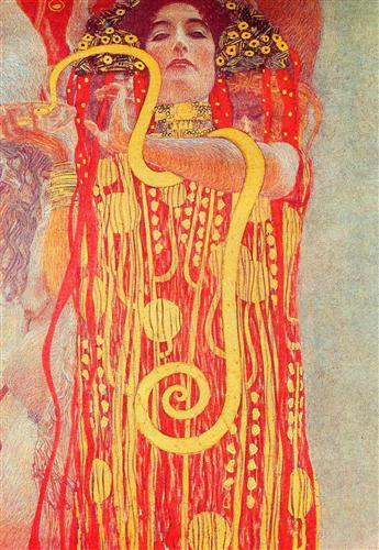 university of vienna ceiling paintings medicine detail