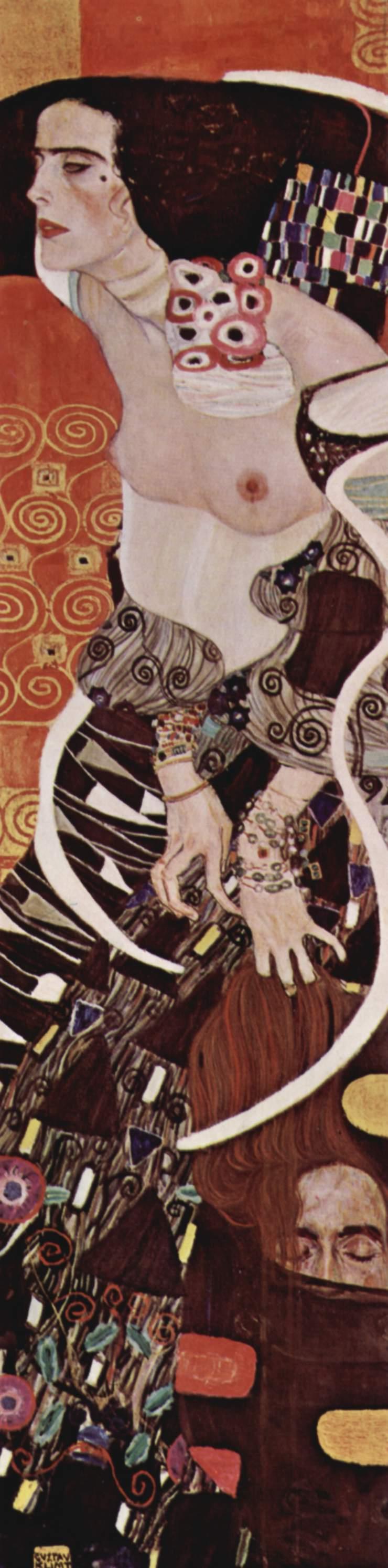 Judith II (Salome), 1909 - Gustav Klimt - WikiArt.org